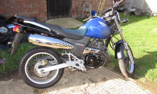 Honda Vigor 650 single cylinder