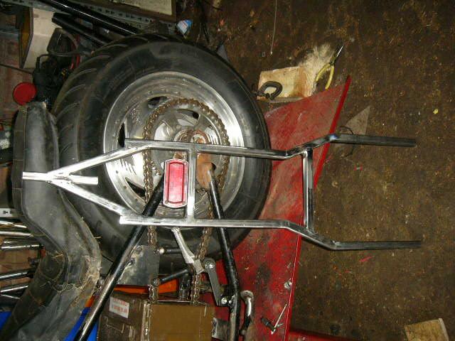 custom motorcycle rear light