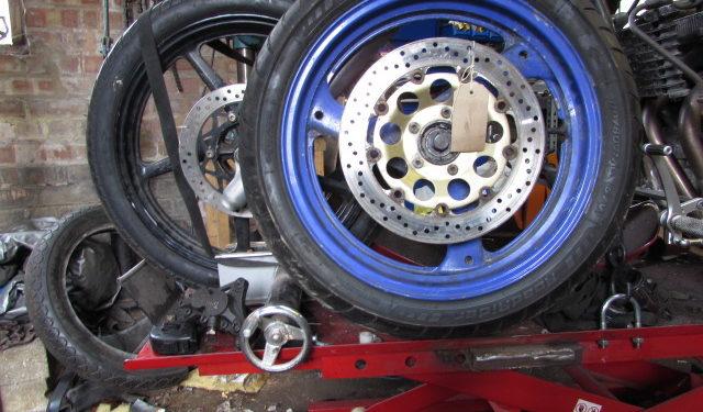 Junkyard dog front wheel