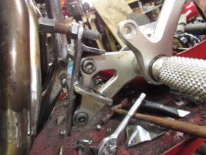 Junkyard dog rear brake assembly