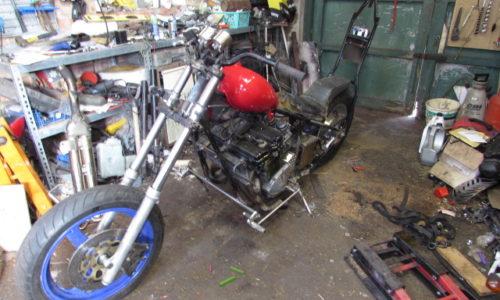 Junkyard Dog Custom Bike Build