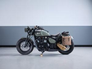Triumph VE75 Custom Bike