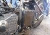 Custom motorcycle bobber build