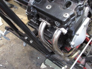 GSX600F exhaust headers