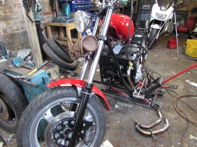 custom bike project build