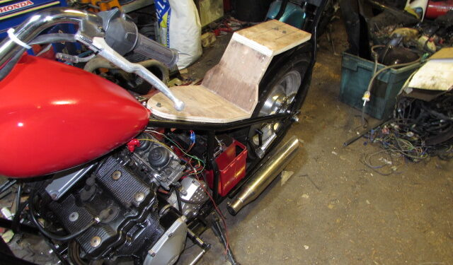 Junkyard Dog Custom Bike