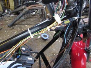 Junkyard Dog custom wiring loom