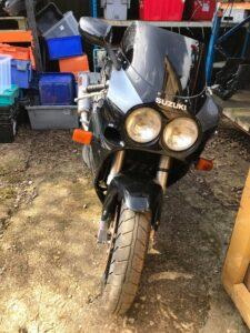 Suzuki GSX-R750L Slingshot