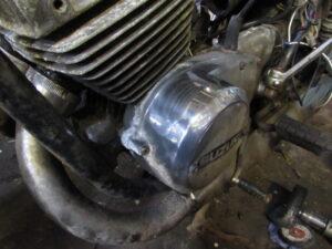 1976 Suzuki GT250 engine