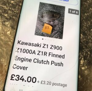 Kawasaki Z1 900 retro engine cover