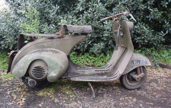 1951 Vespa Scooter