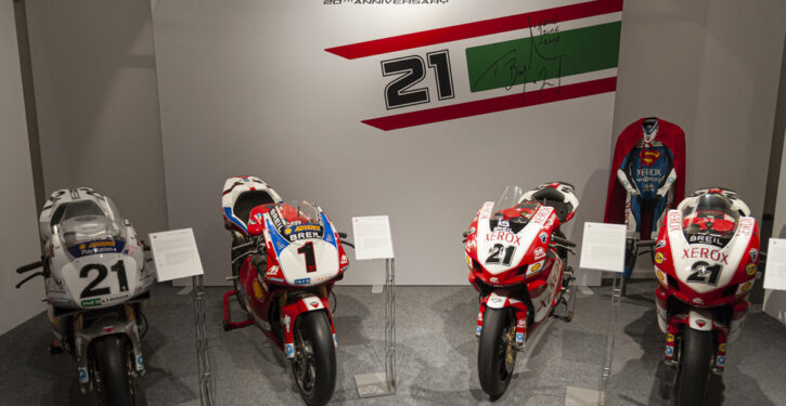 Troy Story the Legend of a Champion, Ducati Museum
