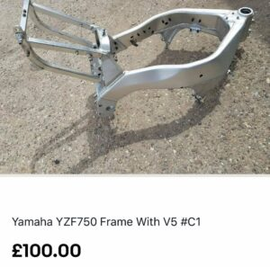 Yamaha YZF750 Frame